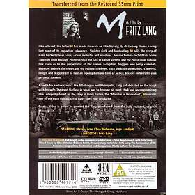 Fritz Lang´s M - Ultimate 2-Disc Edition