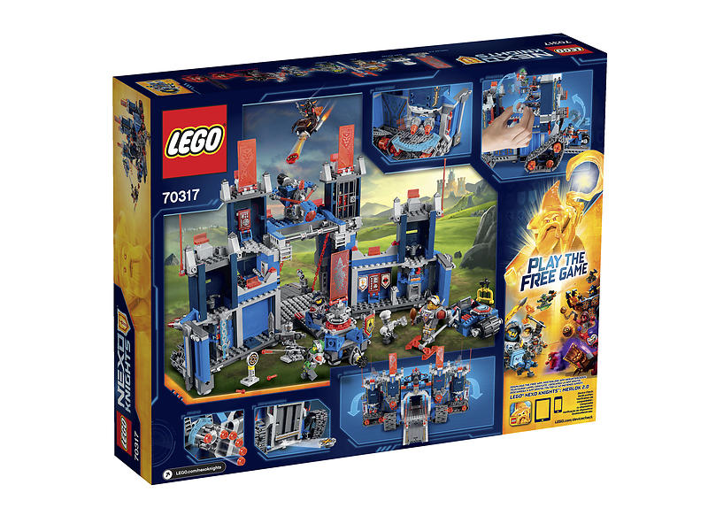 THE FORTREX 70317 LEGO NEXO KNIGHTS