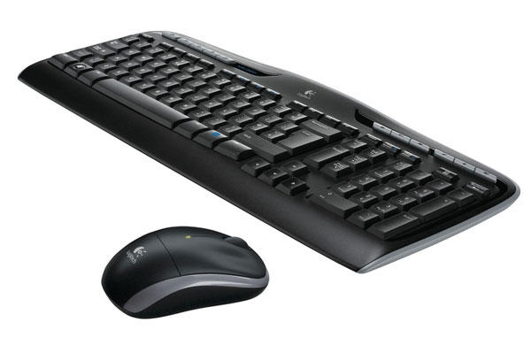 Logitech Wireless Desktop MK320 (Nordic) Mus og