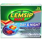 Reckitt Benckiser Lemsip Max Day & Night Cold & Flu Relief 24 Capsules