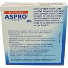 Bayer Aspro Clear Extra Strength 500mg 16 Tablets