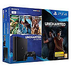 Sony PlayStation 4 (PS4) Slim 1TB (ml. Uncharted Collection + The Lost Legacy)