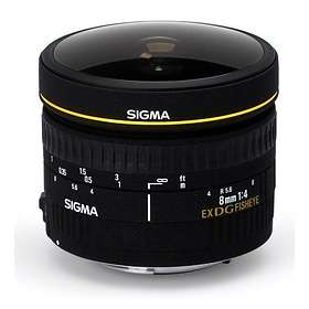 Sigma 8/3.5 EX DG Fisheye for Canon