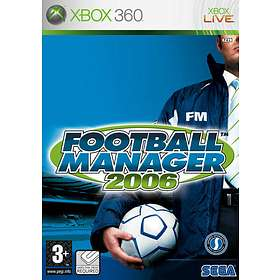 Football Manager 2006 (Xbox 360)