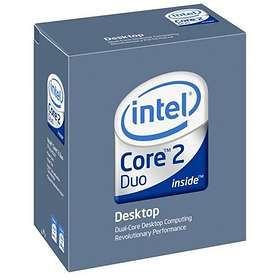 Intel Core 2 Duo E6300 1,86GHz Socket 775 Box