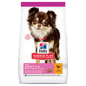 Hills Canine Science Plan Adult Light Mini Chicken 2.5kg