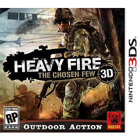 Heavy Fire: The Chosen Few 3DS (3DS)