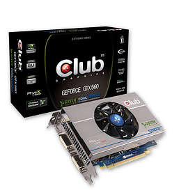 Club 3D GeForce GTX 560 Green Edition HDMI 2xDVI 1GB