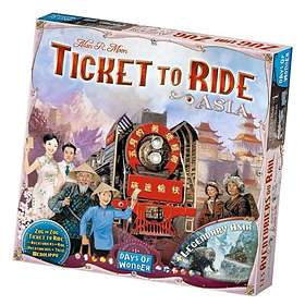 Ticket to Ride: Asia (exp.)