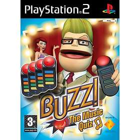 Buzz! The Music Quiz (+ Buzzers) (PS2)