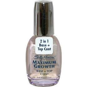 Sally Hansen Maximum Growth Base and+ Top Coat 13ml