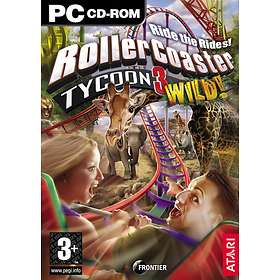 RollerCoaster Tycoon 3: Wild! (Expansion) (PC)
