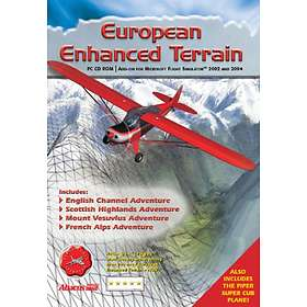 Flight Simulator 2002/2004: European Enhanced Terrain (Expansion) (PC)