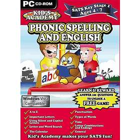 Kids Academy - Key Stage 1: Phonic Spelling and English (PC)