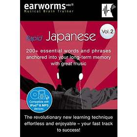 Earworms Rapid Japanese Vol. 2
