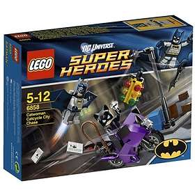 LEGO DC Comics Super Heroes 6858 Catwoman Catcycle City Chase
