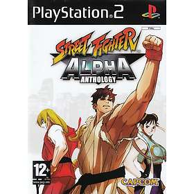 Street Fighter Alpha Anthology (PS2)