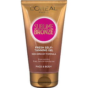 L'Oreal Sublime Bronze Fresh Feel Self Tanning Gel Non Tinted 150ml