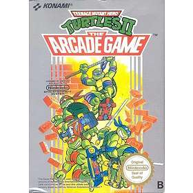 Teenage Mutant Hero Turtles II: The Arcade Game (NES)