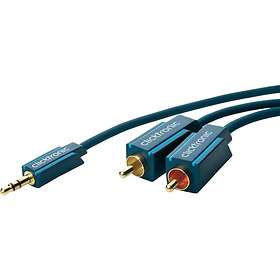 ClickTronic Casual MP3 3.5mm - 2RCA 20m