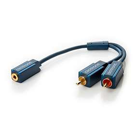 ClickTronic Casual 3.5mm - 2RCA F-M 0,1m