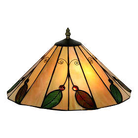 Oaks Lighting Leaf Tiffany Uplighter 14