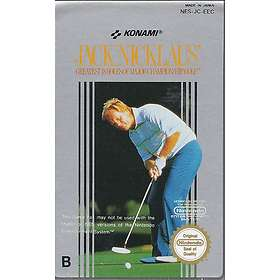 Jack Nicklaus' Greatest 18 Holes of Major Championship Golf (NES)