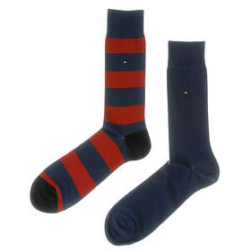 Tommy Hilfiger Fun Rugby Sock 2-Pack