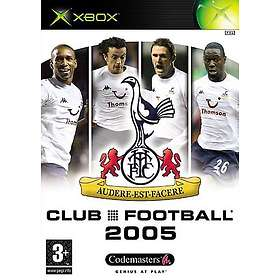 Club Football 2005: Tottenham (Xbox)