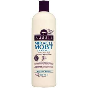 Aussie Miracle Moist Shampoo 500ml