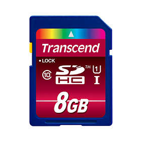Transcend Ultimate SDHC Class 10 UHS-I U1 8GB
