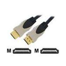 Cables Direct Gold HDMI - HDMI High Speed with Ethernet 15m