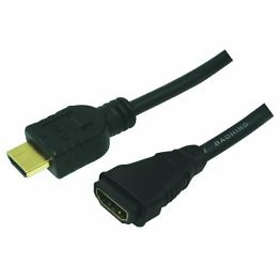 LogiLink HDMI - HDMI High Speed with Ethernet M-F 3m