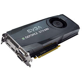EVGA GeForce GTX 680 HDMI DP 2xDVI 2GB