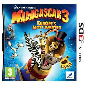 Madagascar 3: Europe's Most Wanted (3DS)