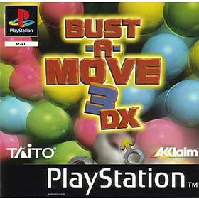 Bust-a-Move 3 DX (PS1)