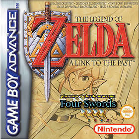 The Legend of Zelda: A Link to the Past + Four Swords (GBA)