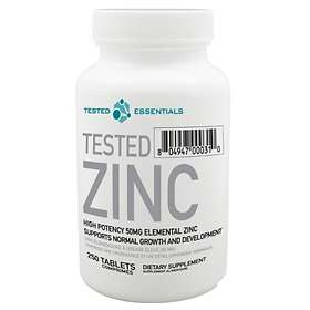 Tested Nutrition Tested Zinc 250 Tablets