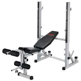 York Fitness B540 Heavy Duty 2 in 1 Bench & Squat Stand