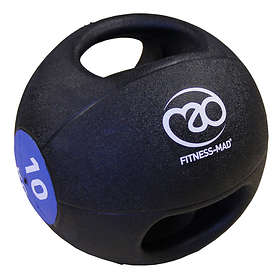 Fitness-Mad Double Grip Medicine ball 10kg