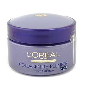 L'Oreal Wrinkle De-Crease Collagen Re-Plumper Night Cream 50ml