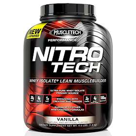 MuscleTech Nitro-Tech Whey Isolate 0.9kg