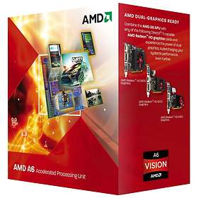 AMD A-Series A6-5400K 3,6GHz Socket FM2 Box