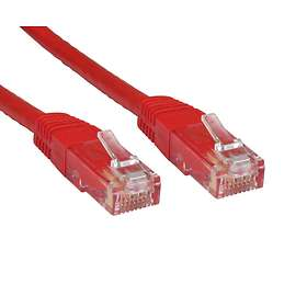 Cables Direct UTP Cat6 RJ45 - RJ45 Moulded 0.25m