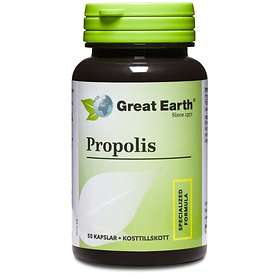 Great Earth Bee Propolis 500mg 50 Kapslar