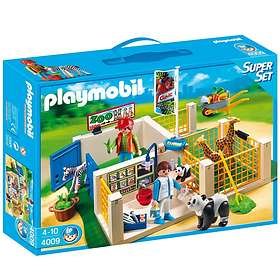 Playmobil Zoo 4009 SuperSet Animal Care Station