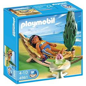 Playmobil Vacation 4861 Woman in Hammock