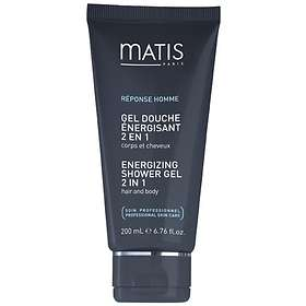 Matis Energizing Shower Gel 2 In 1 200ml
