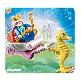 Playmobil Magic Castle 4815 Ocean King with Seahorse Carriage
