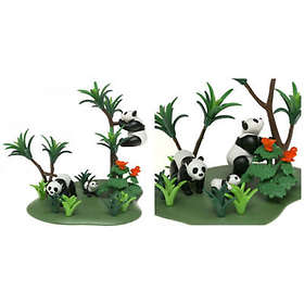 Playmobil Zoo 3241 Panda Family